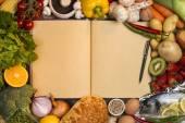 Základní potraviny - kuchařka - prostor pro Text