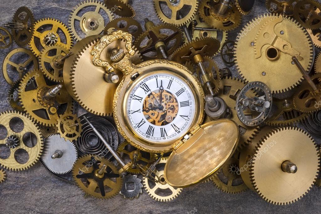 Imágenes Reloj Antiguos Reloj De Bolsillo Y Piezas De Relojes