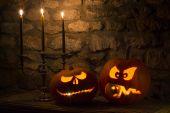 Zucche di Halloween - Jack o  Lanterns