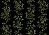 ručně tažené bezešvé květinovým vzorem
