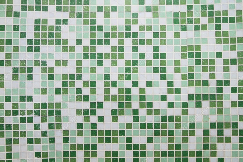 Zöld mozaik csempe háttér — Stock Fotó © drpnncpp #103298944