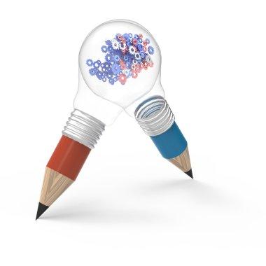Pencil light bulbs