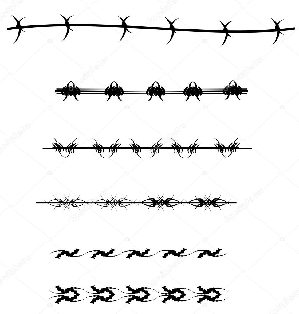 Drutu Wzorów Tatuaż Grafika Wektorowa Retroartist 55806719