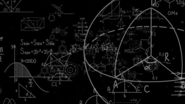 Dieser Stock-Motion-Graphics-Clip bietet eine Reihe unterschiedlicher Formeln, Diagramme, Modelle und Graphen, die auf den Betrachter zugehen. Dieser Clip eignet sich hervorragend für mathematische, chemische, medizinische, pädagogische, High-Tech- oder naturwissenschaftliche Projekte.