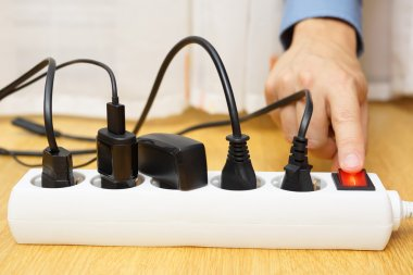 energy savings with turning off electrical appliances