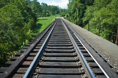 Train Tracks On The Horizon