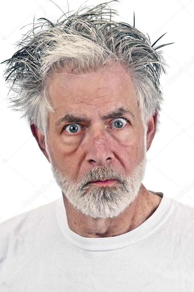 Emotional And Angry Old Man Stock Photo C Whitestar1955 74464181