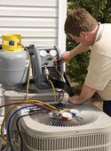 Photo Air Conditioner Repairman