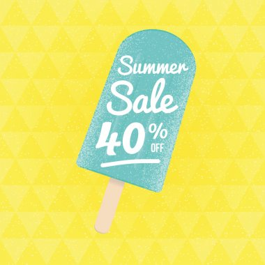 Summer Sale 40 percent off.