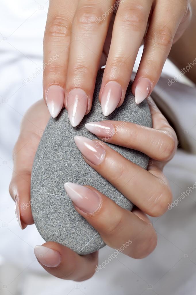 nice manicured nails — Stock Photo © VGeorgiev #110855814