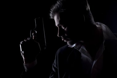 Men's silhouette