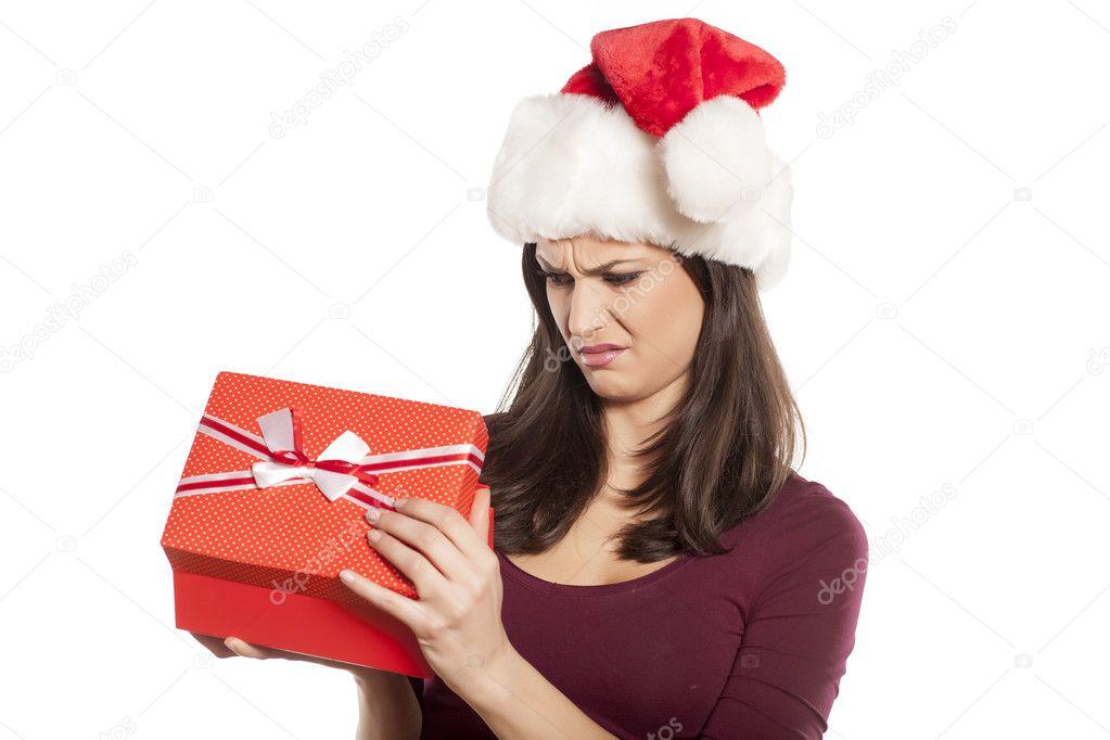 unerwünschte Weihnachtsgeschenk — Stockfoto © VGeorgiev #92339090