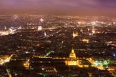 Letecký pohled na Paříž, Francie