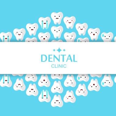 Cartoon illustration of teeth