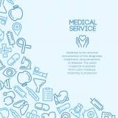 Medical service background