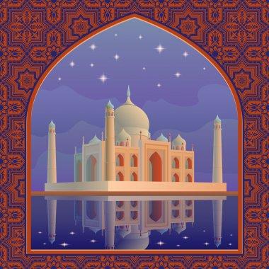 Taj postcard