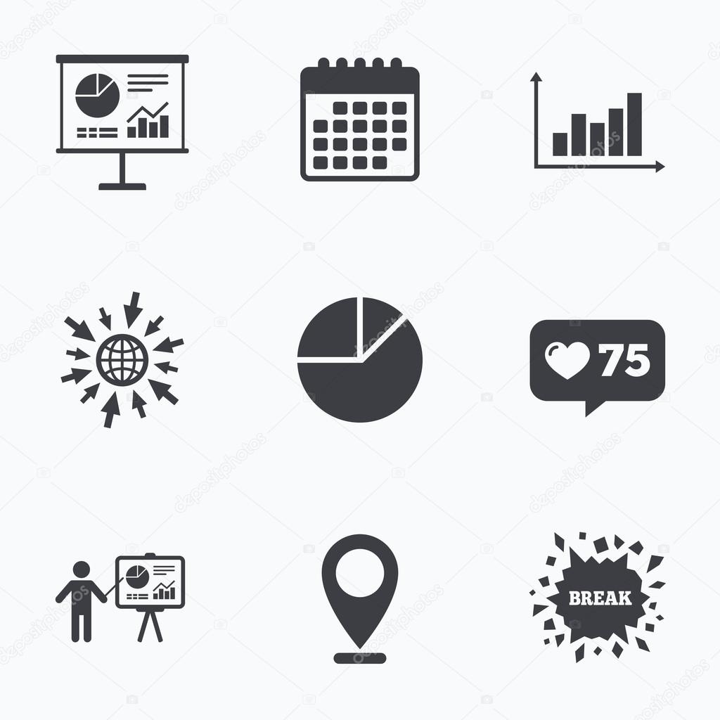 Gráfico de diagrama gráfico — Archivo Imágenes Vectoriales ...