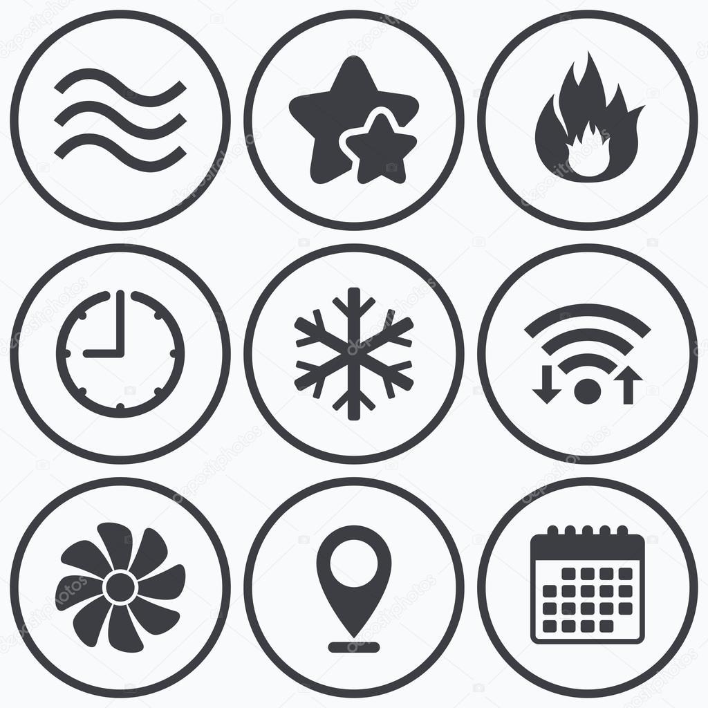 HVAC. Chauffage, de ventilation et de climatisation — Image ...