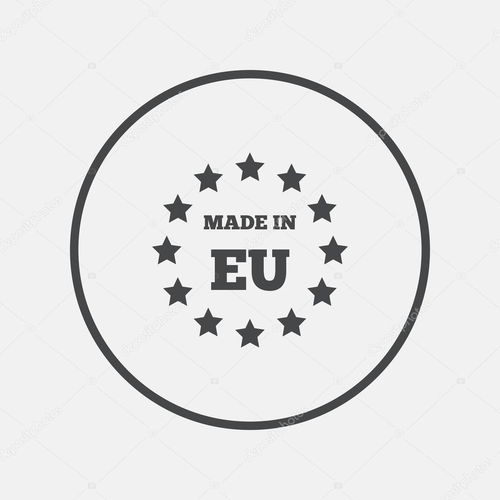 Beste Made in EU icon. — Stockvektor © Blankstock #114872976 VN-91