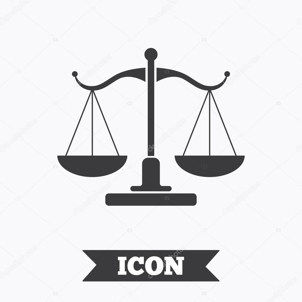 Scales of justice sign icon court of law symbol stock vector scales of justice sign icon court of law symbol graphic design element flat scales of justice symbol on white background vector vector by blankstock biocorpaavc Images