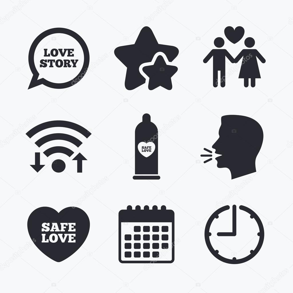 the Safe sex internet on