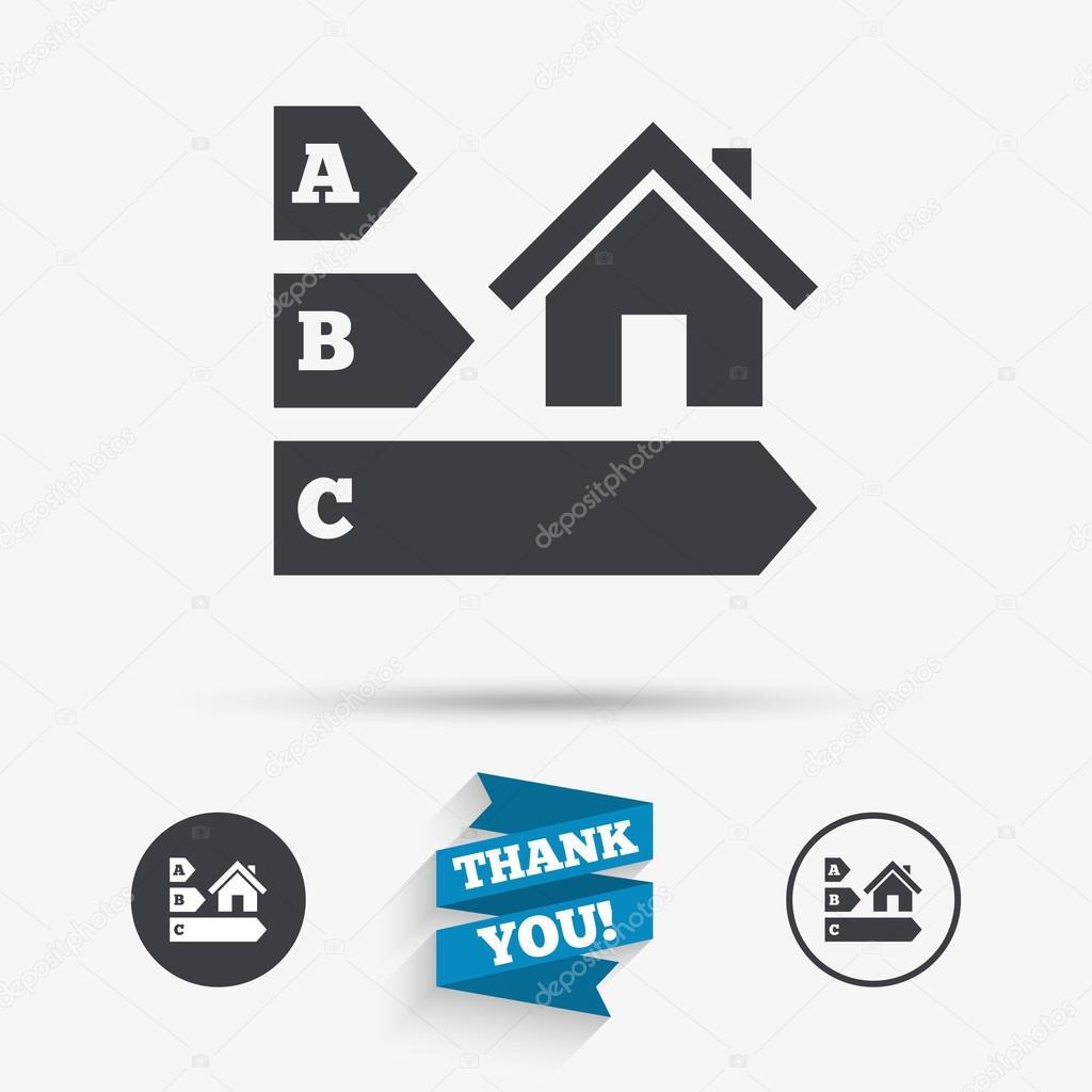 Energy efficiency icon house building symbol stock vector energy efficiency icon house building symbol stock vector biocorpaavc Image collections