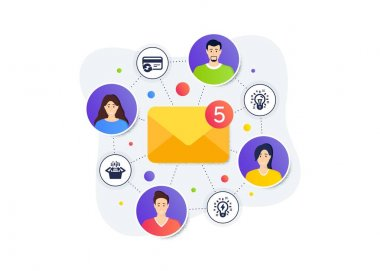Change card, Packing boxes and Idea icons simple set. Teamwork messages banner. Employee remote work. Inspiration sign. Payment method, Delivery box, Creativity. Technology set. Vector icon