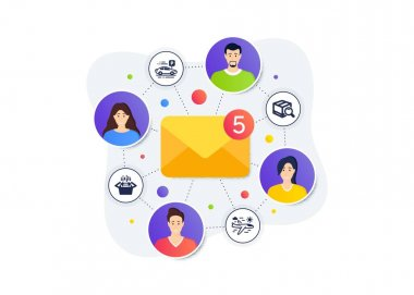 Search package, Packing boxes and Car parking icons simple set. Teamwork messages banner. Employee remote work. Airplane travel sign. Tracking service, Delivery box, Transport place. Vector icon