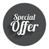 Photo Special offer sign icon. Sale symbol.