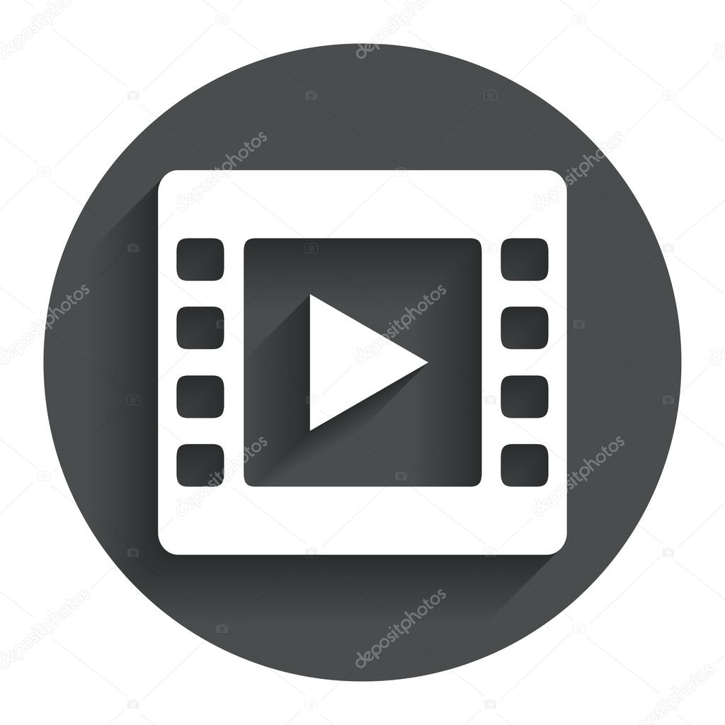Video Zeichen Symbol. Video-Frame-symbol — Stockvektor © Blankstock ...