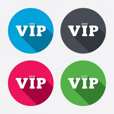 Vip sign icons