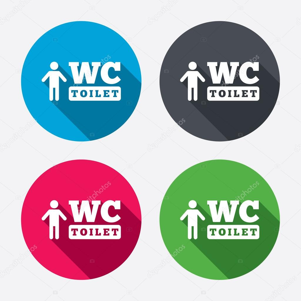 Wc men toilet sign icons stock vector blankstock 60073267 wc men toilet sign icons stock vector biocorpaavc Choice Image