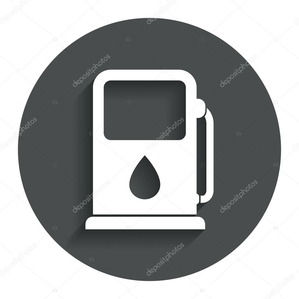 Navigate To The Closest Gas Station >> Petrol Or Gas Station Icon Stock Vector C Blankstock