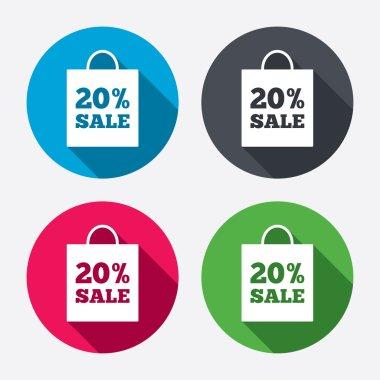 20 percent sale bag