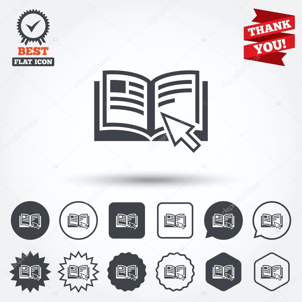 Instruction Sign Icons Stock Vector Blankstock 63896581