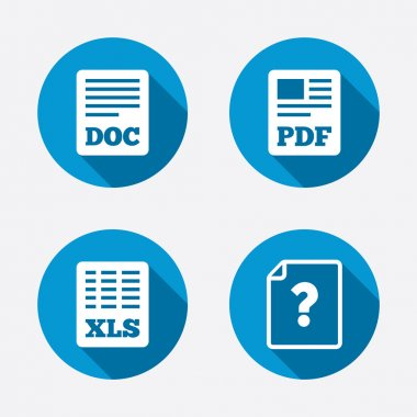 Document icons.