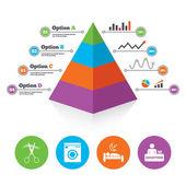 Šablona grafu pyramida