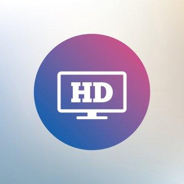 HD widescreen tv.