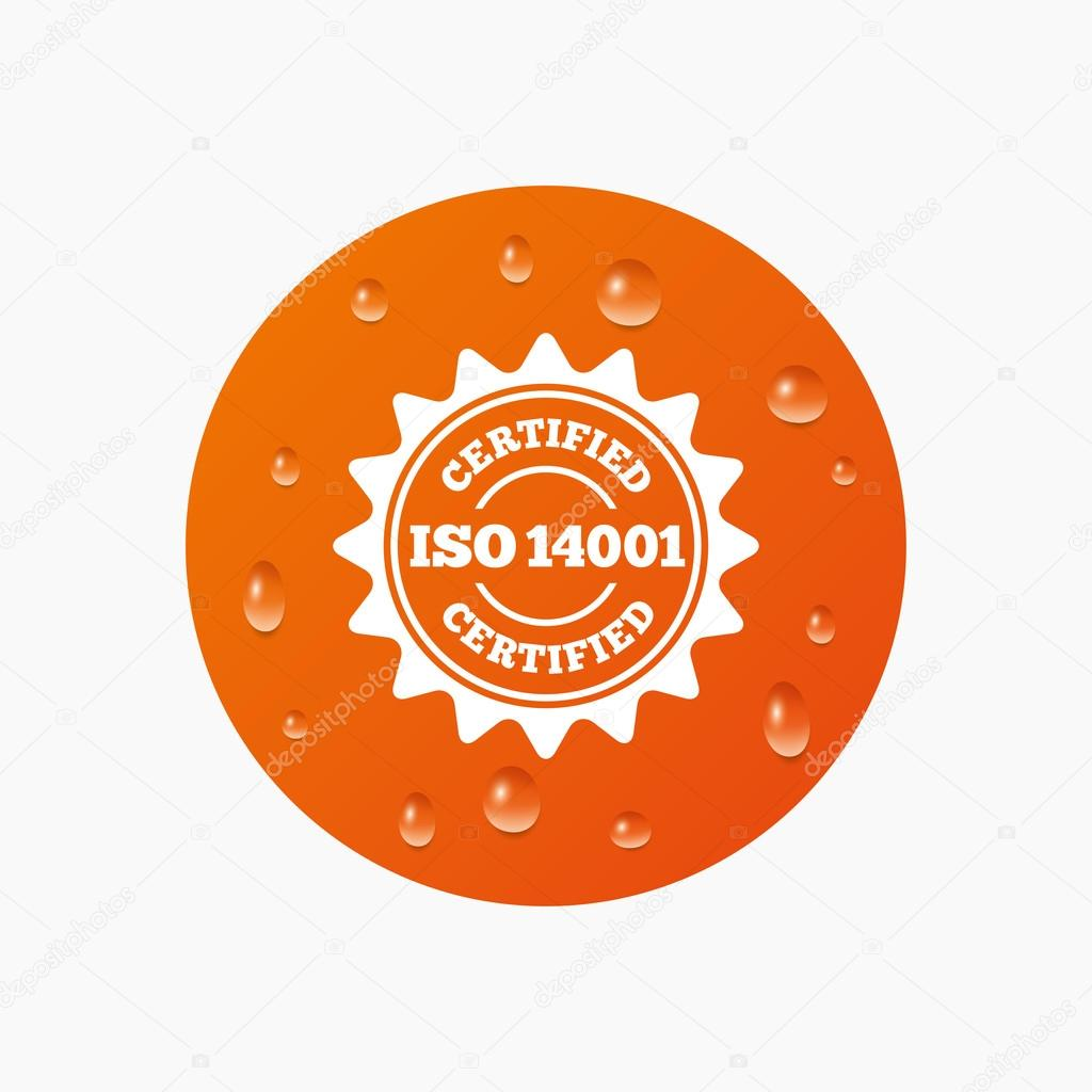 Certification Stamp Quality Icon Stock Vector