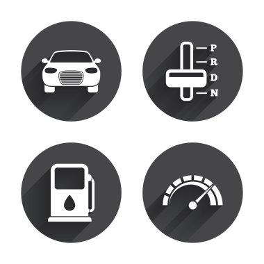 Transport, car icons