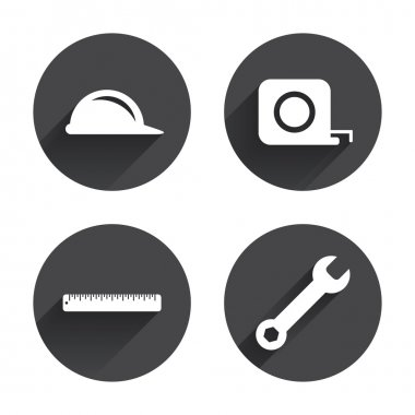 Construction, tools, repair icons