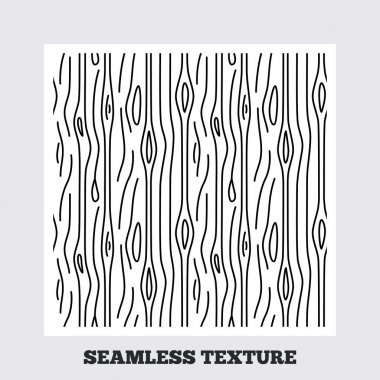 Seamless texture. Wood lines texture. Stripped geometric seamless pattern. Modern repeating stylish texture. Flat pattern on white background. Vector clip art vector