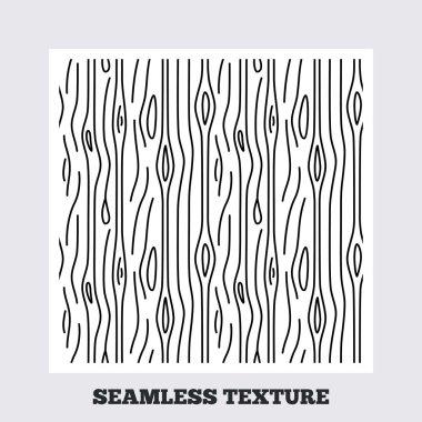 Wood lines seamless pattern.