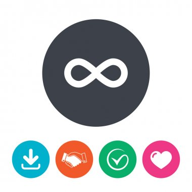 Limitless sign icon.