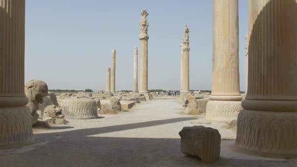 Stone ruins of the Persepolis