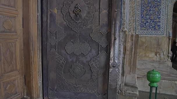 Šáhova mešita dveře