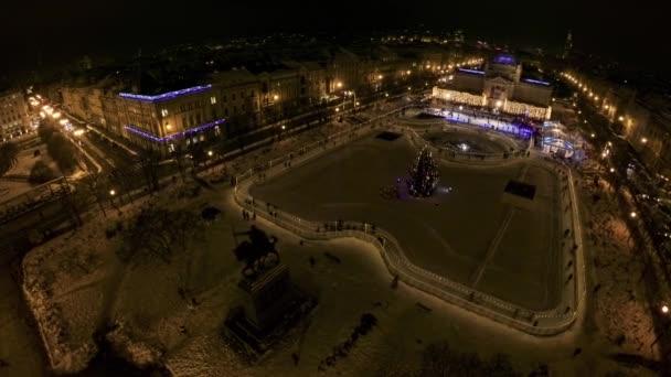 Král Tomislav náměstí před Silvestr
