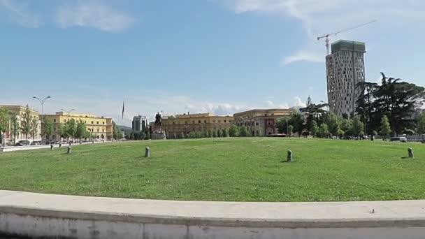 Skanderbeg Square in Tirana