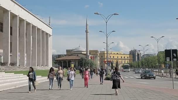 Ethem Bey Mosque on Skanderbeg Square