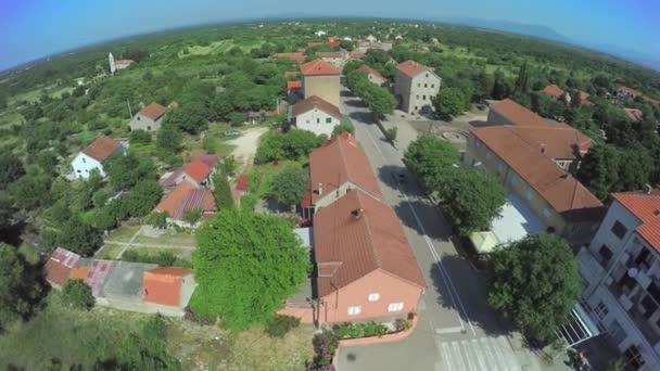 Dalmatské území, vzdušný záběr